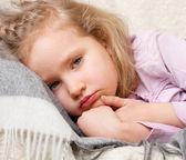 Niño de la enfermedad — Foto de Stock