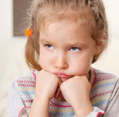 Sad child — Stock Photo