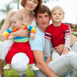 Happy family — Stockfoto #18476609