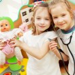 Child in kindergarten — Stock Photo #20350233