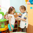Child in kindergarten — Stock Photo #20350235