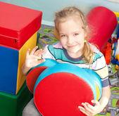 Child in kindergarten — Stock Photo
