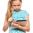 Child with a Tablet PC — Stock Photo