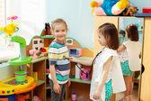 Niño de kindergarten — Foto de Stock