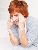 Baş ağrısı — Stok fotoğraf