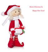 Christmas doll — Stock Photo