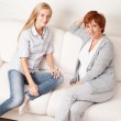 Mother with daughter at home — Stock Photo #29993257