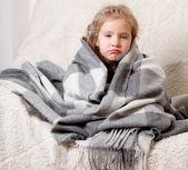 Hastalık çocuk — Stok fotoğraf