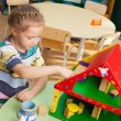 Child in kindergarten — Stock Photo #32655419
