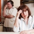 Conflict adults couple — Stock Photo