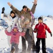 Family in the winter — Stock Photo #35034955