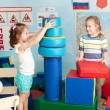 Child in kindergarten — Stock Photo #35035069
