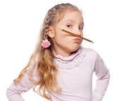 Zábava dívka — Stock fotografie