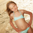 Girl on the beach — Stock Photo #41997587