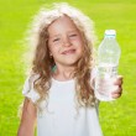 Child drinking water — Stock Photo #47242389
