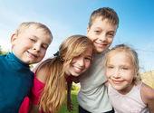 Kinderen zomer — Stockfoto