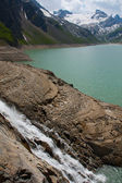 Kaprun area, lake and Alps — Stock Photo