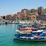 Heraklion harbour. Crete, Greece — Stock Photo #12747951