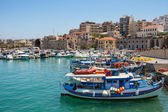 Heraklion harbour. Crete, Greece — ストック写真