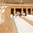 Stock Photo: Horus. Temple of Hatshepsut. Luxor, Egypt
