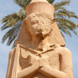 Ramses II. Karnak Temple. Luxor, Egypt - Stock Photo