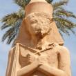Ramses II. Karnak Temple. Luxor, Egypt — Stock Photo