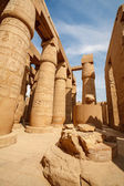 Temple de karnak à louxor. égypte — Photo