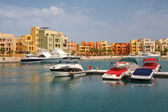Marina. El Gouna, Egypt — Stock Photo