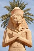 Ramsés ii. templo de karnak. luxor, egito — Foto Stock