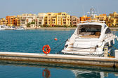 Marina. El Gouna, Egypt — Stock Photo