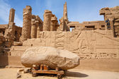 Karnak temple. Luxor, Egypt — Stock Photo