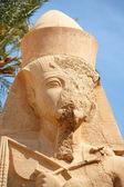拉美西斯二世。卡纳克神庙。卢克索埃及 — 图库照片