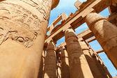 Templo de karnak, em luxor. egito — Foto Stock