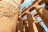 在卢克索的卡纳克神庙。埃及 — 图库照片