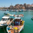 Heraklion harbour. Crete, Greece - Stock Photo