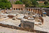 Odeon. Gortyn, Crete, Greece — Stock Photo