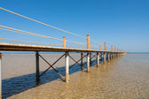 Pier at Red Sea. El Gouna, Egypt — Stock Photo