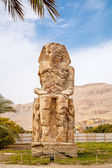 Colossi of Memnon. Luxor, Egypt — Stock Photo
