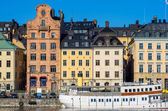 Gamla Stan. Stockholm, Sweden — Stock Photo