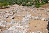 Ruins of Gournia. Crete, Greece — Stock Photo