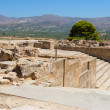Palace of Phaistos. Crete, Greece - Stock Photo
