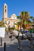 Town square. Chania, Crete, Greece — Stock Photo