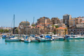 Heraklion harbour. Crete, Greece — Stock Photo