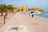 Abu Tig Marina. El Gouna, Egypt — Stock Photo