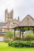 Parade Gardens. Bath, England — Stock Photo