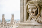 Gargoyle St. Mary The Virgins Church. Oxford, UK — Stock Photo