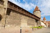 Medieval wall. Tallinn, Estonia — Stock Photo