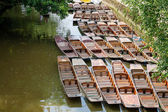 Punts. Oxford, UK — Stock Photo