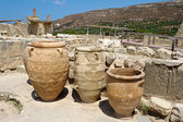 Knossos palace. Crete — Stock Photo