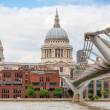 Stock Photo: St Paul's Cathedral. London, UK